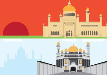 Brunei Historic Showplace - Free vector #418181