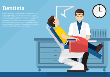 Dentista Template Free Vector - бесплатный vector #418201