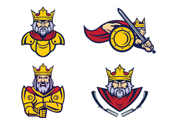 Free Kings Vector - vector #418521 gratis