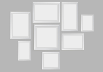 Free Blank Frame Vector - Free vector #418571