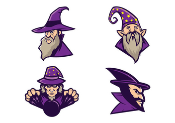 Free Wizards Vector - Free vector #418751