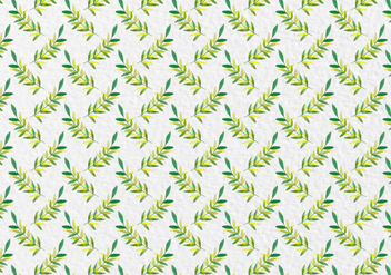 Free Vector Watercolor Leaves Seamless Pattern - бесплатный vector #418861