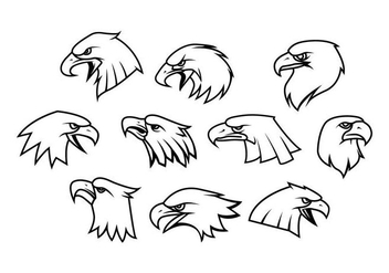 Free Eagle Logo Vector - бесплатный vector #418921