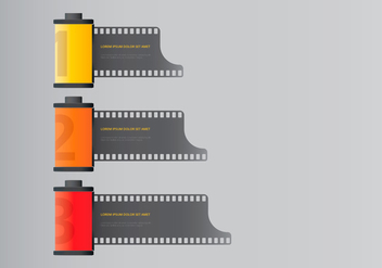 Film Photo Canister - vector gratuit #418971