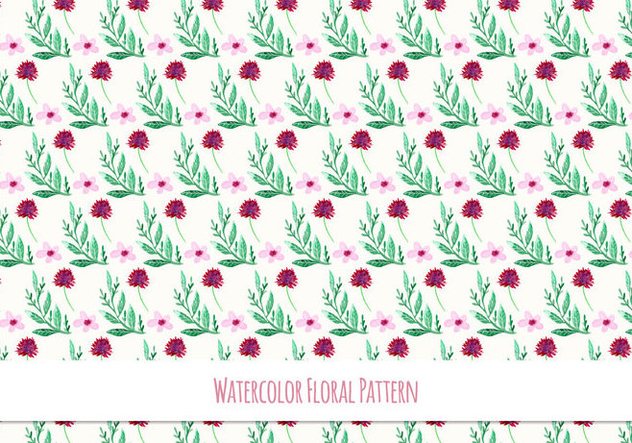 Free Vector Watercolor Pattern - Free vector #419081