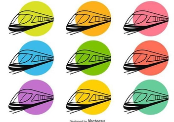 Train Vector Silhouette - vector #419171 gratis