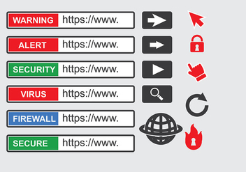Address Bar Vector - vector #419401 gratis
