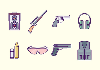 Free Shooting Range Icon - vector gratuit #419531