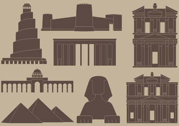 Middle East Icons - vector #419581 gratis