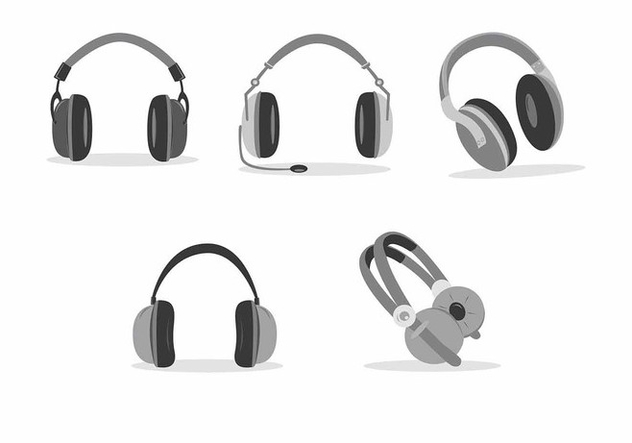 Headphone Vector Useful - Free vector #419791