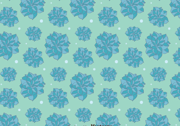 Blue Camellia Flowers Pattern Background - Free vector #419811