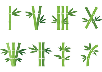 Free Bamboo Icons Vector - Free vector #419831