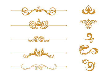 Free Scrollwork Vector - Free vector #419881
