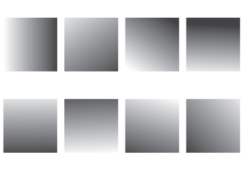 Grey Gradient Vector Pack - vector #420061 gratis