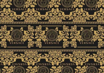 Versace Background 2 Vector - Kostenloses vector #420241