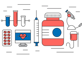 Free Medical Icons - vector #420301 gratis