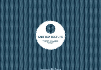 Free Knitted Wool Vector Background - vector gratuit #420391