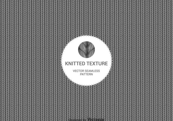 Free Vector Knitted Wool Background - Free vector #420411