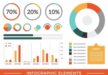 Free Vector Infographic Elements - Kostenloses vector #420451