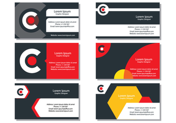 Business Card - vector gratuit #420581