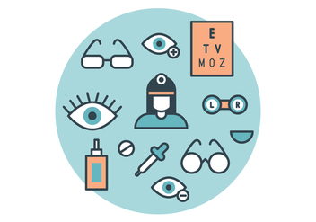The Ophthalmologist Vector Pack - Free vector #420731
