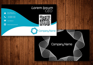 Creative Business Card - Free vector #420971