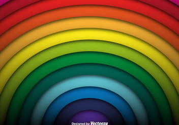 Vector Rainbow Background - Free vector #421451