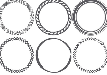 Funky Sketchy Frames Collection - Free vector #421521