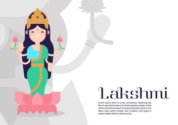 Lakshmi Background - Free vector #421571