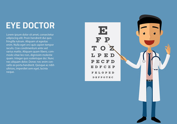 Eye Doctor Character Vector - бесплатный vector #421701