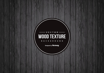 Drak Black Wood Background - Free vector #421841