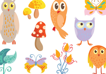 Free Enchanted Forest Vectors - Free vector #421911