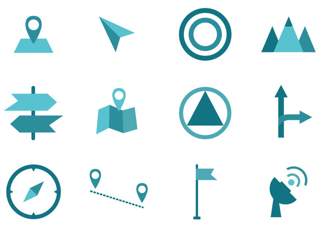 Map Legend Symbol Sign - vector #421941 gratis