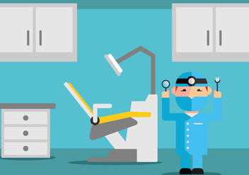 Dental Office Vector - vector #422111 gratis