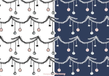 Holiday Pattern Vector - vector #422201 gratis