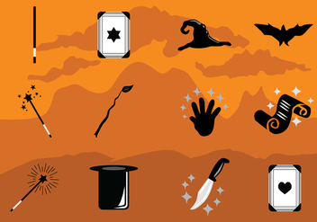 Magic Icons Collection - vector #422241 gratis