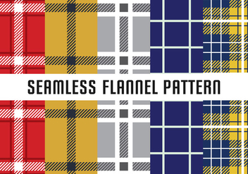 Flannel Seamless Pattern - vector gratuit #422311