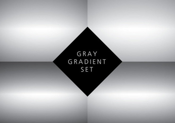 Centered Gradient Background Vectors - vector #422421 gratis