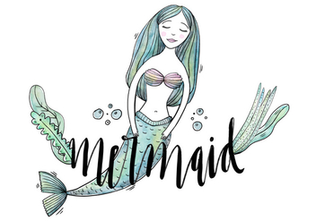 Free Mermaid Character - бесплатный vector #422981