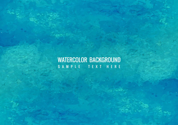 Free Vector Blue Watercolor Background - Kostenloses vector #423051