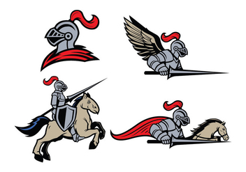 Free Lancers Mascot Vector - Kostenloses vector #423221