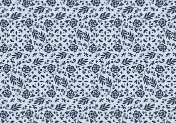 Floral Vector Pattern - Free vector #423231