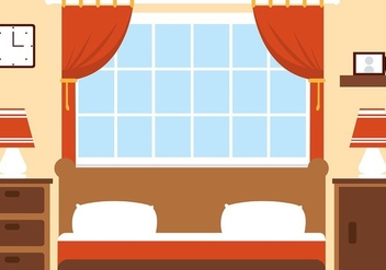 Free Vector Bedroom - vector gratuit #423741