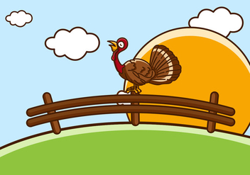 Wild Eastern Turkey - vector #424151 gratis