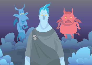 Hades And Devils Vector - vector #424211 gratis