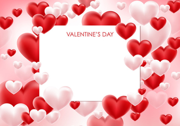 Valentine Card Vector - бесплатный vector #424271