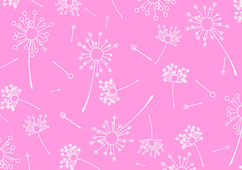 Blowball Pattern Free Vector - vector #424571 gratis