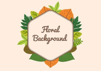 Free Leaf Background - Free vector #424631