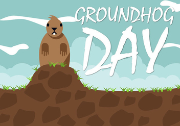 Free Groundhog Day Vector - vector #424861 gratis