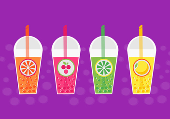 Free Bubble Tea Vector - Kostenloses vector #424881